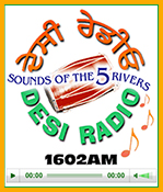 Desi Radio Pop Out Radio